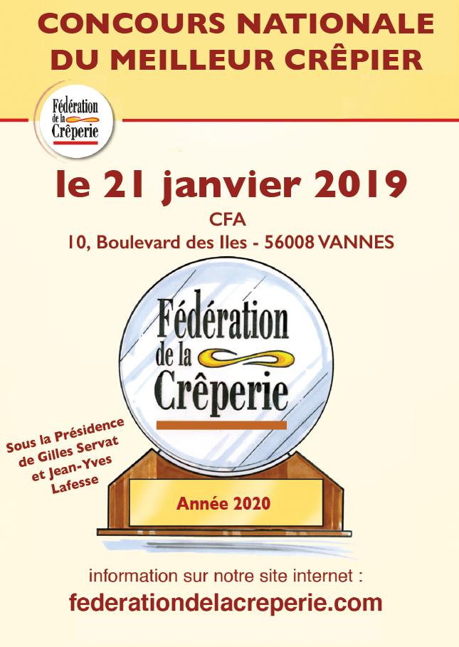 Concours du meilleur crêpier 2020